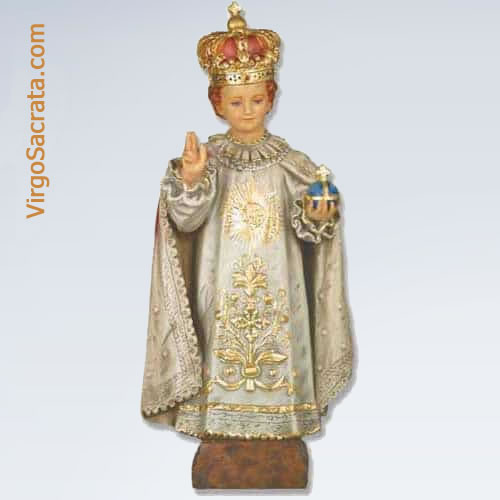Infant Jesus Of Prague Statue Of Child Of Prague Made Of Fiberglass
