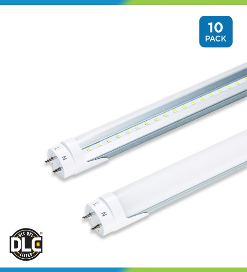 small resolution of t8 led tubes 4 foot pack of 10 ballast bypass direct wire wiring 277 volt fluorescent light fixtures wiring get free image