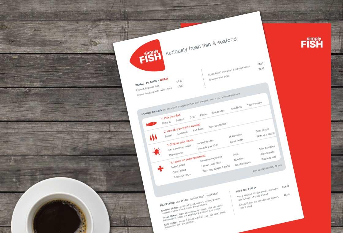 Work Example   Simply Fish Restaurant   Viridian Partnership Portfolio