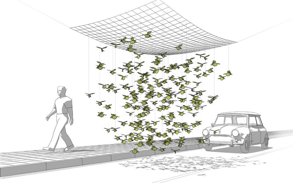 Park(ing) Рoяк - Проект на инсталацията