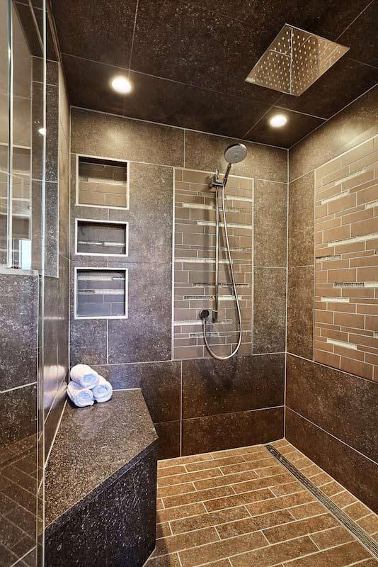 Barker Master Bathroom  Interior Designer Denver CO