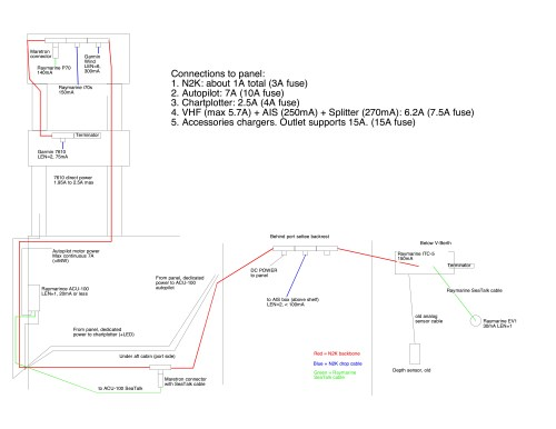 small resolution of here is an wiring diagram of my setup