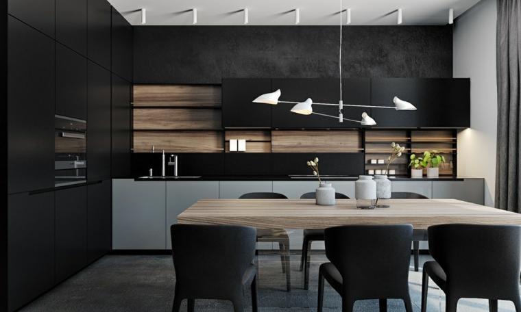 Decotips Claves de diseo para una cocina en negro