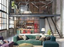 Reinvention of an Industrial Loft Space | Home Decor Trends
