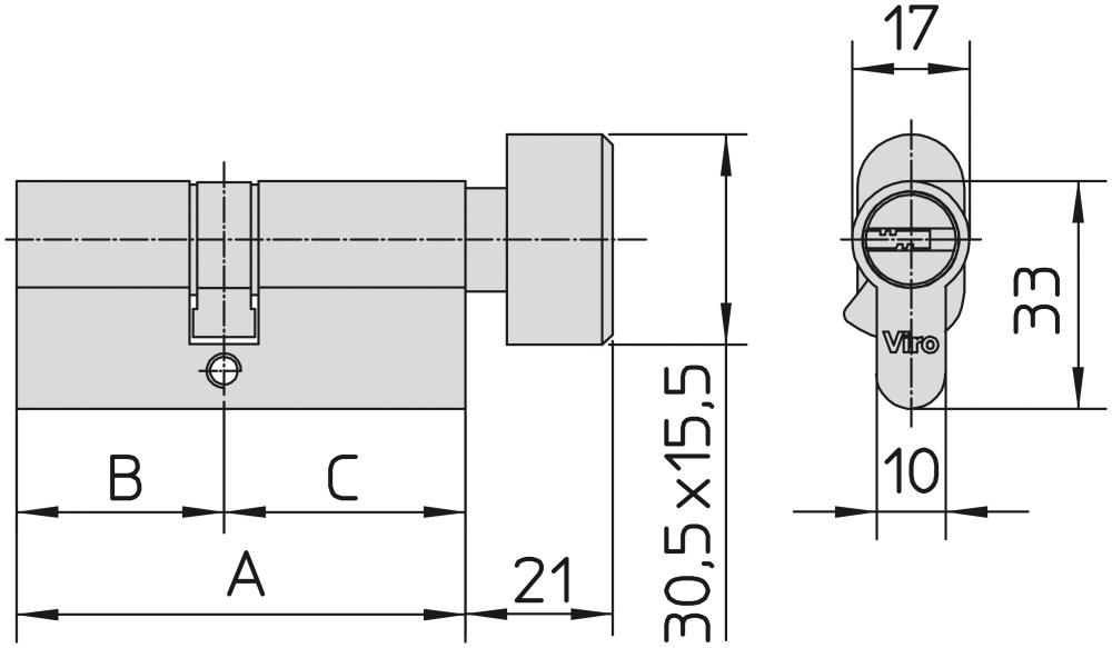 medium resolution of 840 range with thumb turn