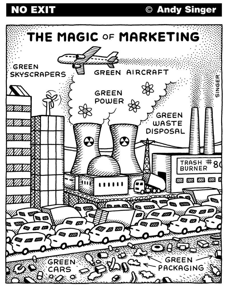 Greenwashing - The magic of marketing