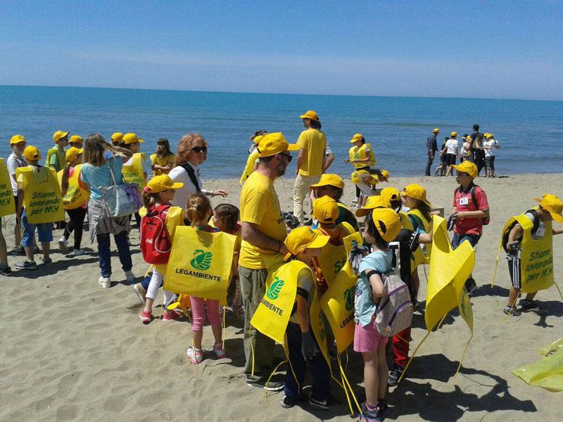 spiagge e fondali puliti 2017 - virosac e legambiente