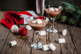 cocktail di natale e capodanno - chocolate martini