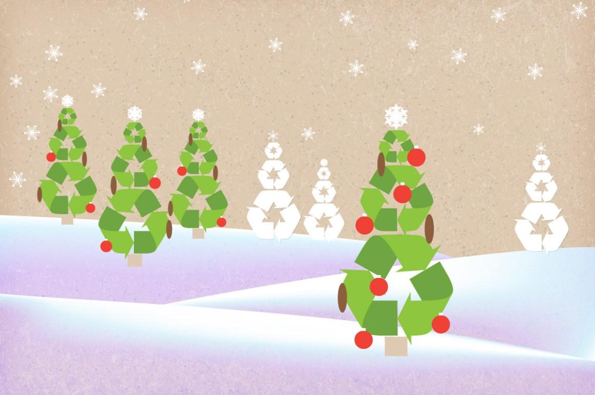 raccolta differenziata delle feste - consigli per natale e capodanno ecofriendly