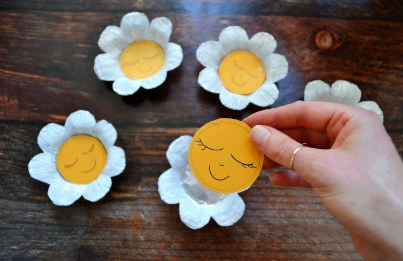 sottobicchieri floreali