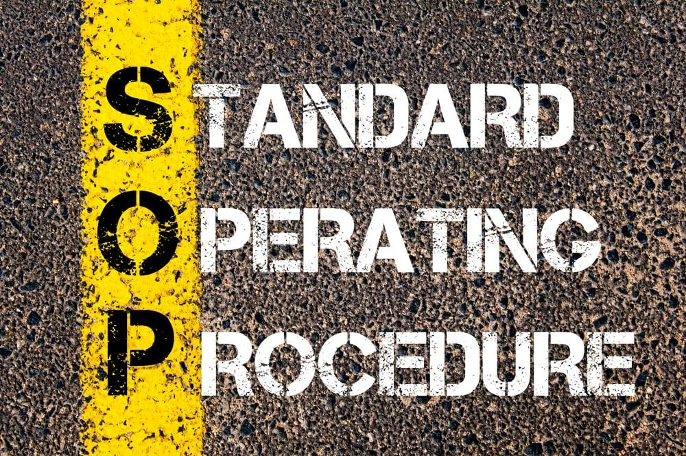 what are standard operating procedures