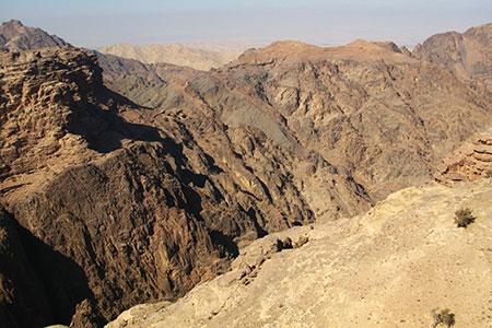 Petra, the Monastery, Wadi Araba