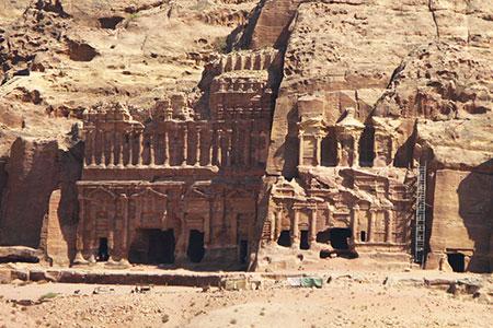 Petra, the Royal Tombs
