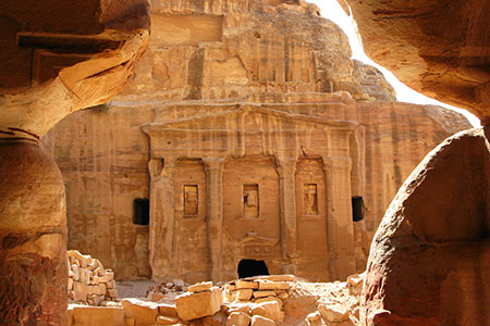 Petra, The Roman Soldier's Tomb