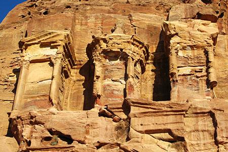 36.-Petra, the Corinthian Tomb