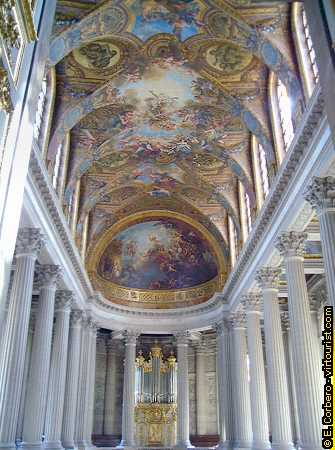 330 Chateau of Versailles the Chapel Royal