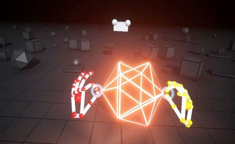 Leap Motion Orion: Blocks