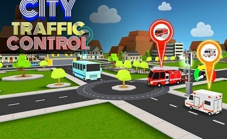 City Traffic Control VR (Oculus Rift)