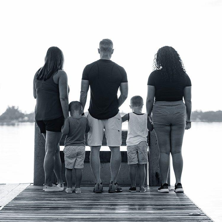 Domenic Celeste and Family