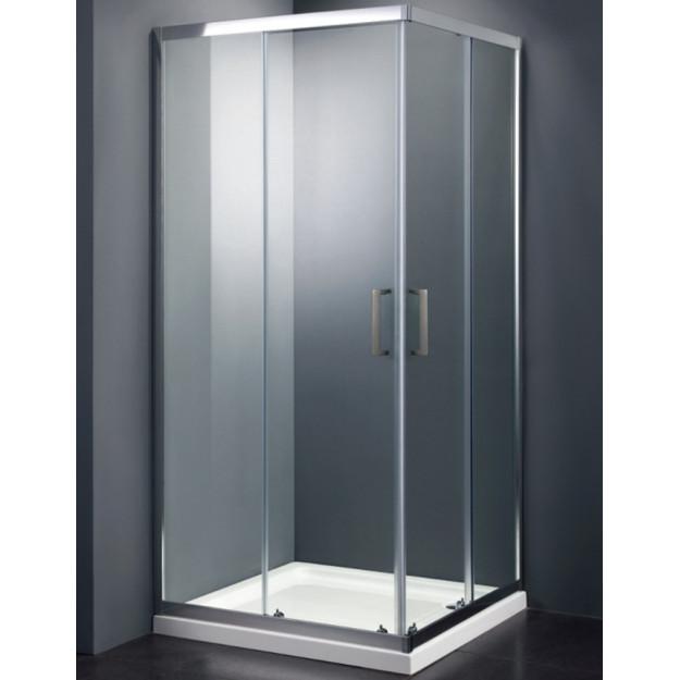 Box doccia scorrevole quadrato o rettangolare in vetro