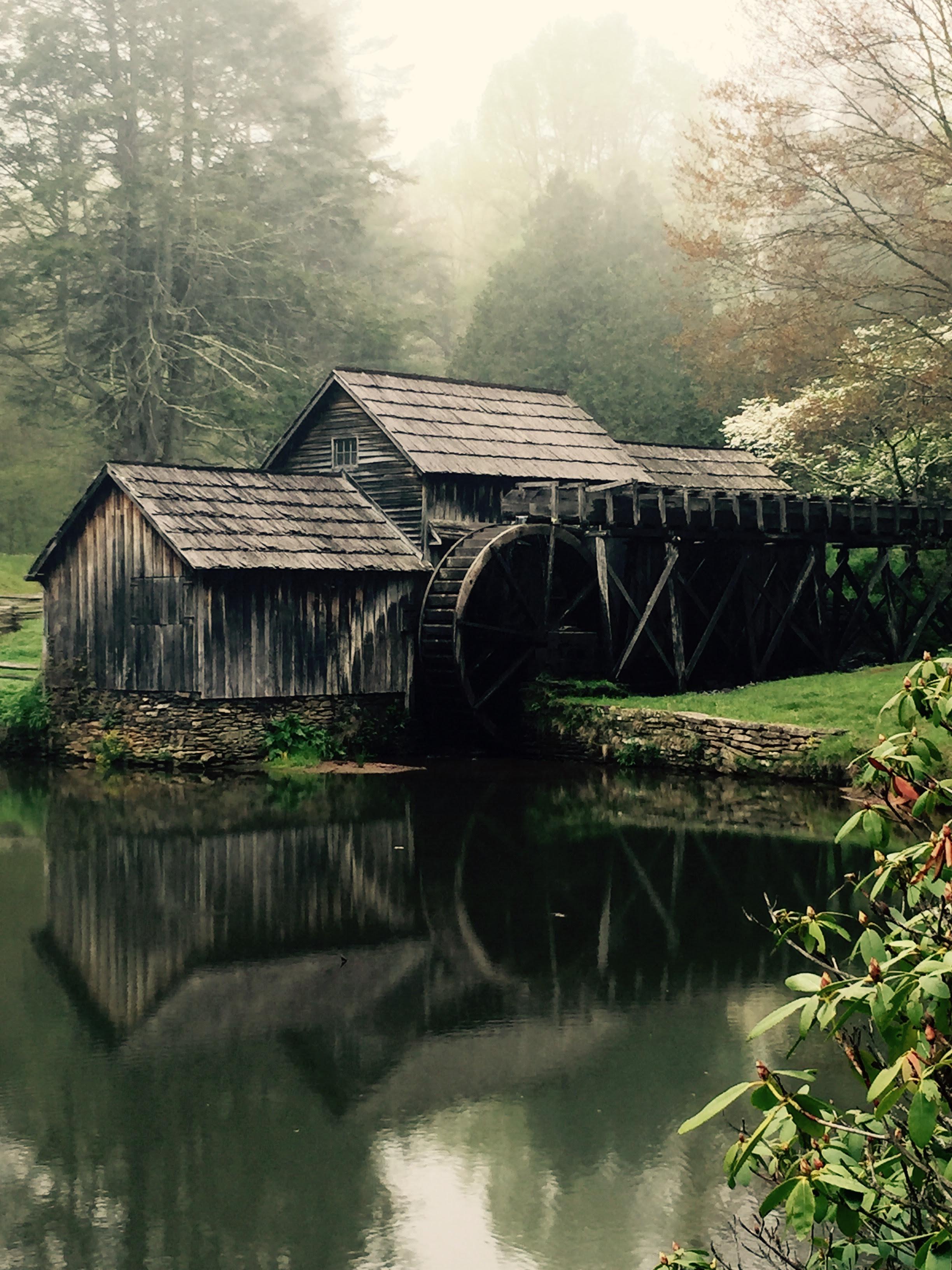 Historic Mabry Mill Blue Ridge Parkway Milepost 1761