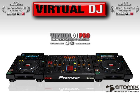 Download Virtual DJ Pro 8.0.2425 + Content (Plugins) Free