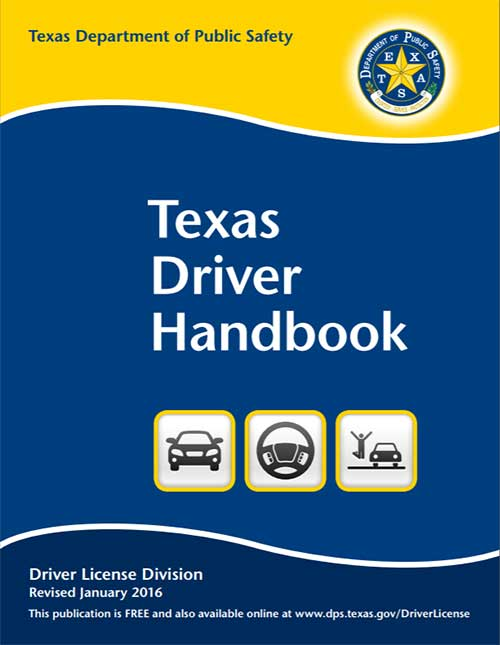 Texas Drivers Handbook (DL-7)