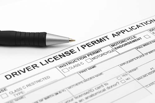 Texas Drivers License Application, Written drivers test