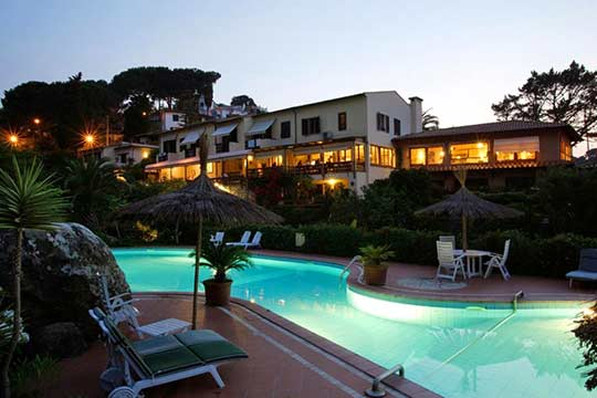 Isola d Elba hotel Cernia Isola Botanica