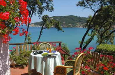 Foto Terrazza sul mare Hotel Hermitage Elba