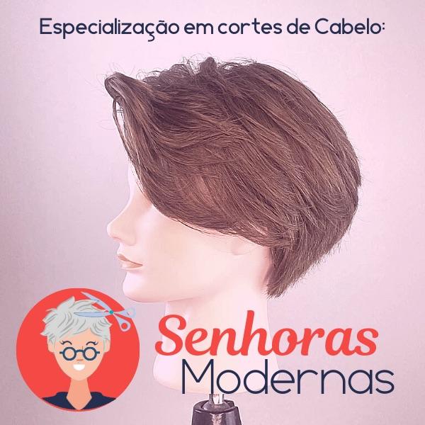 Senhoras Modernas - Curso de Cortes de Cabelo