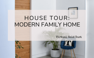 house tour modern family home