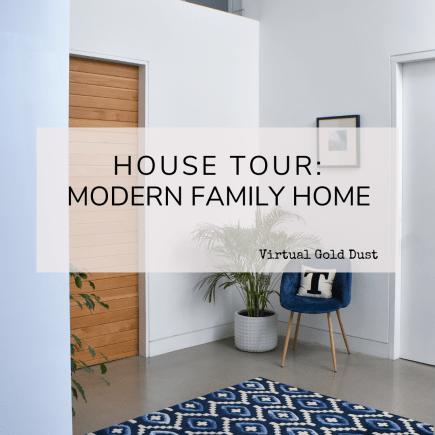 house tour modern family home
