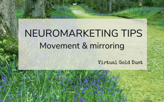 neuromarketing movement mirroring photography