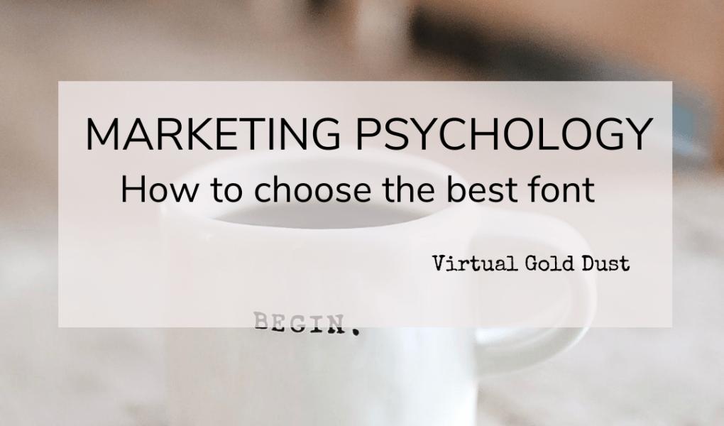 fonts marketing psychology