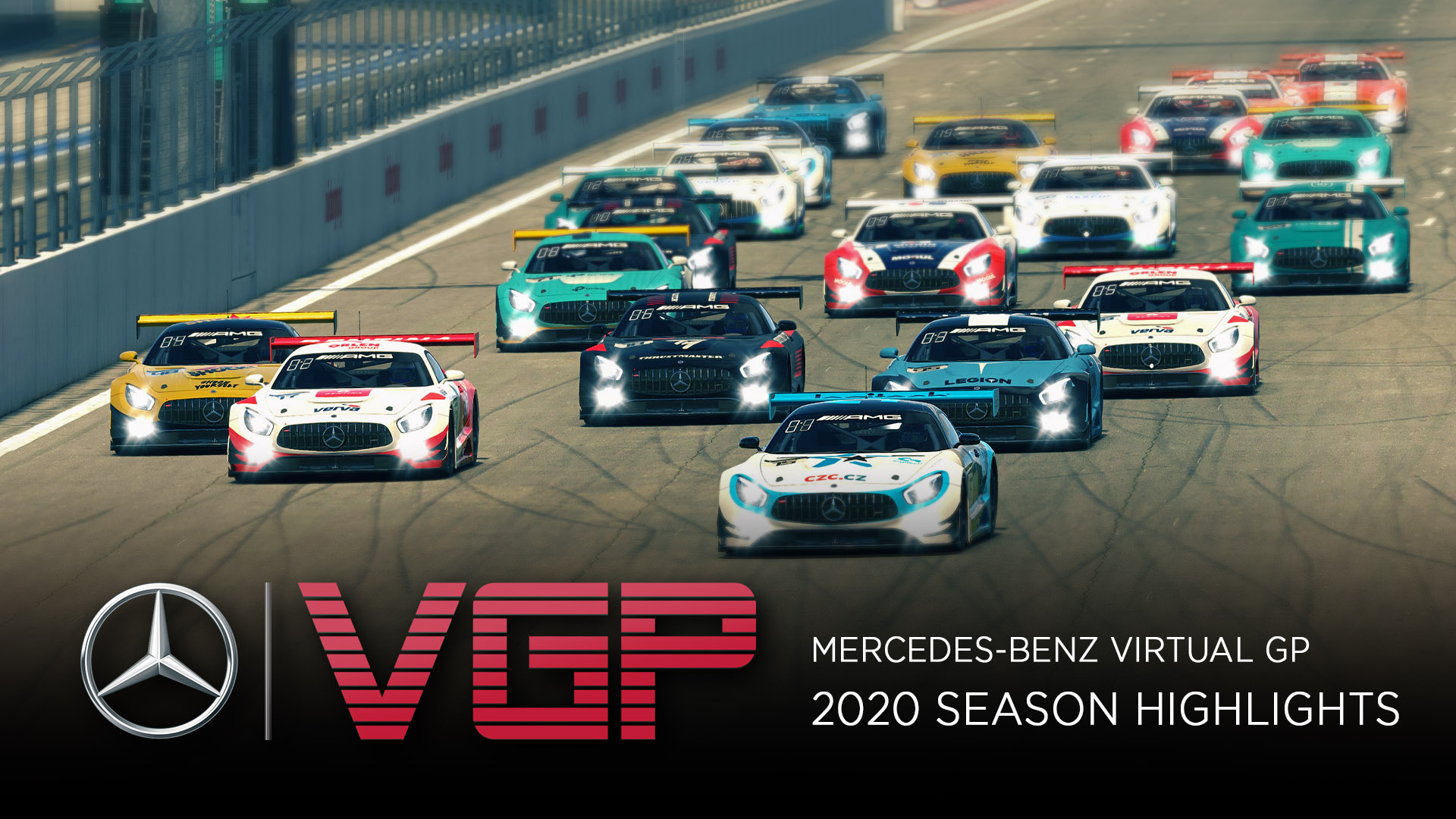 Mercedes-Benz Virtual GP 2020 Season Highlights