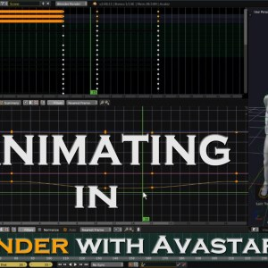 Animating in Blender with Avastar