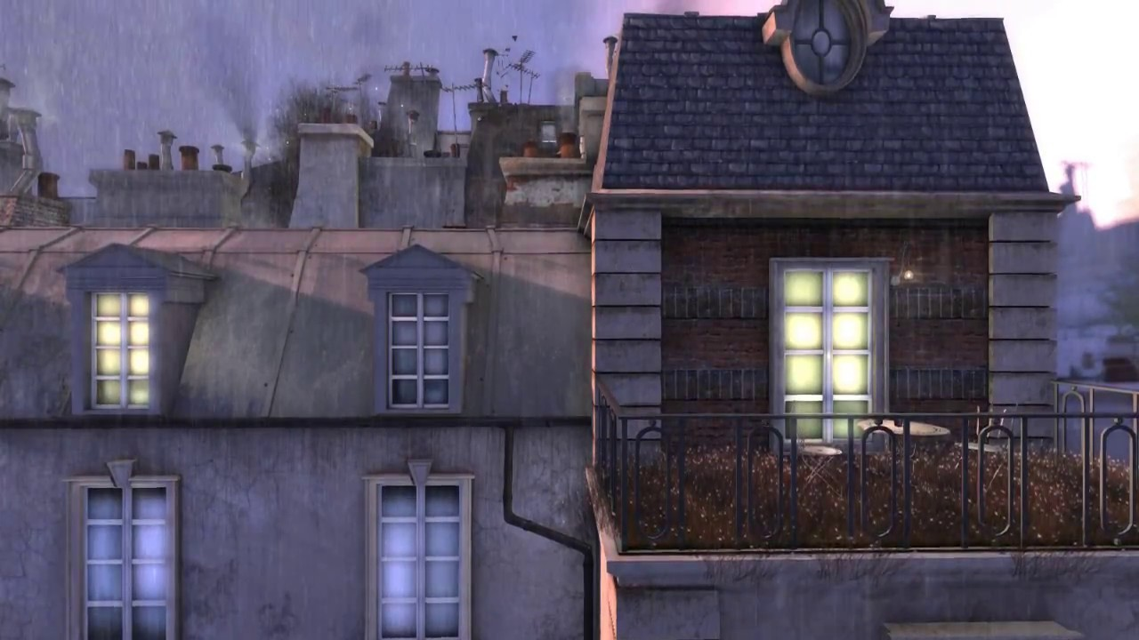 The roofs of Paris (Second Life machinima) By Pepa Cometa
