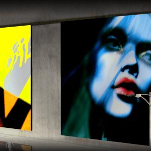 Maloe Vansant again @Nitroglobus Roof Art Gallery