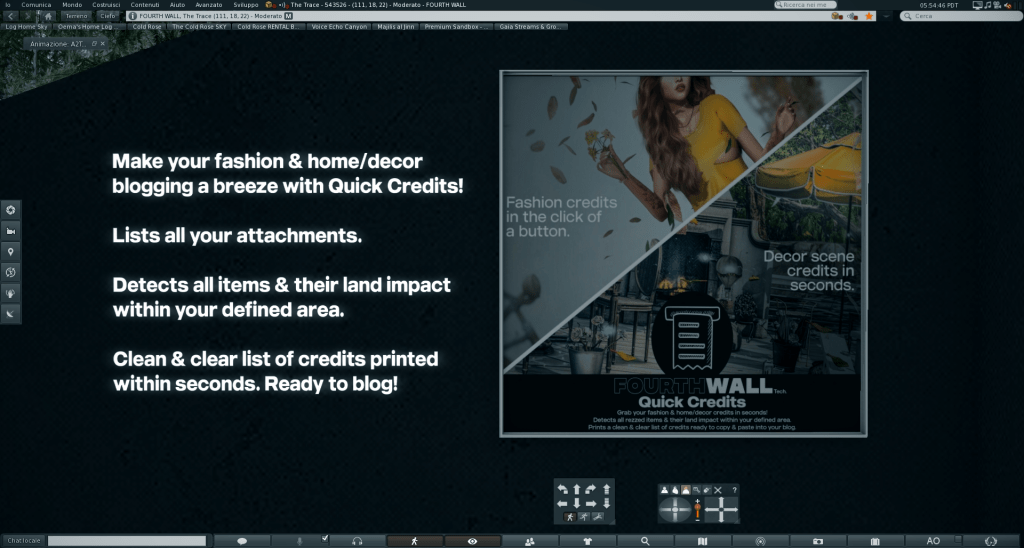 Blogger: automate your credits!