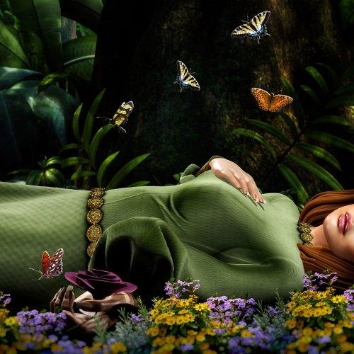 Flickr of the Day: Sleep … sleep … sleep Aurora – Contest Entry