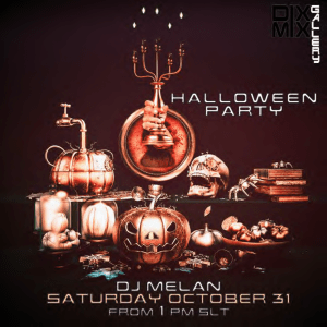 """Halloween Party at Dixmix Gallery """"the place to be"""""""