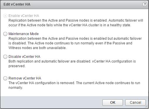 vcsa65_ha22如何配置VMware VCSA 6.5 HA