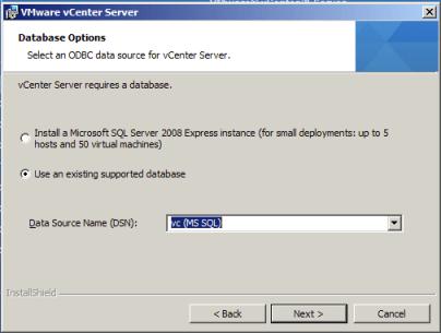 Complete vCenter Database information