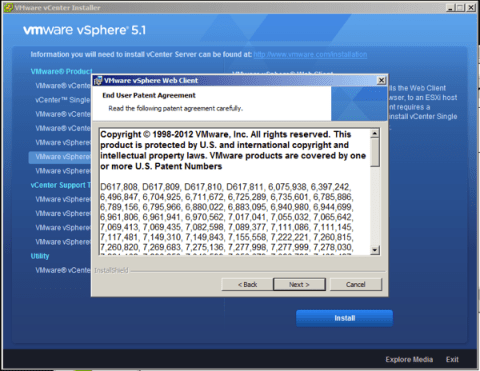 Accept VMware Patent