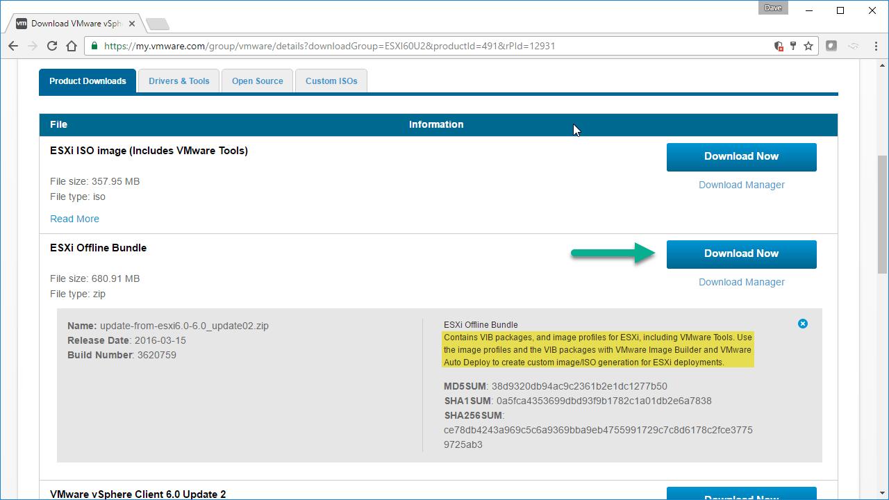 How to Create a Custom ESXi Image - VirtualizeStuff
