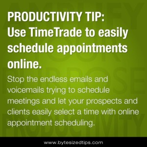 Stop the endless emails and voicemails trying to schedule meetings and let your prospects and clients easily select a time with online appointment scheduling.