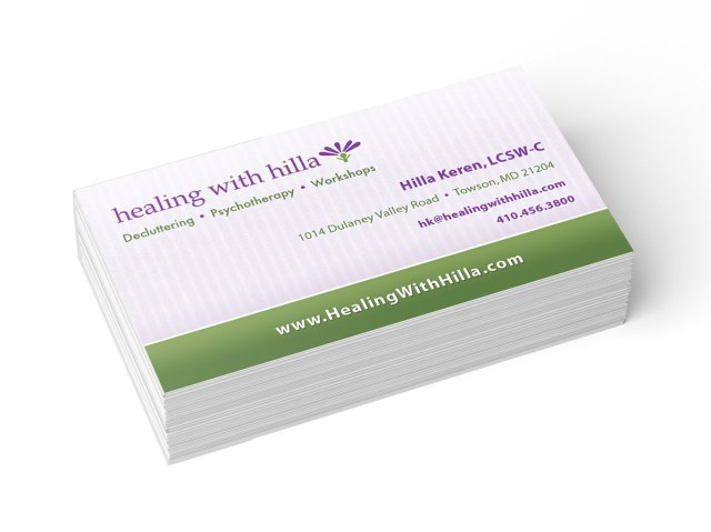 Use Your Business Cards to List Social Networks & Calls-to-Action