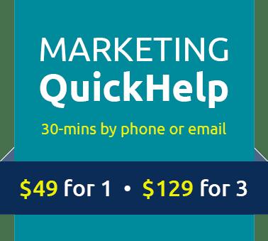 Marketing QuickHelp
