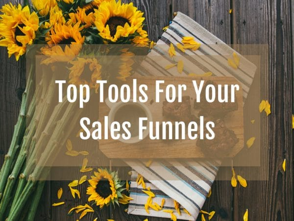 sales funnels tools, web builders, autoresponders, online sales funnels, shopping carts